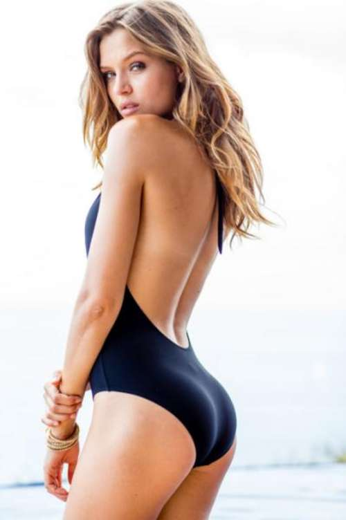 Josephine Skriver Sauvage Swimwear Shoot 25