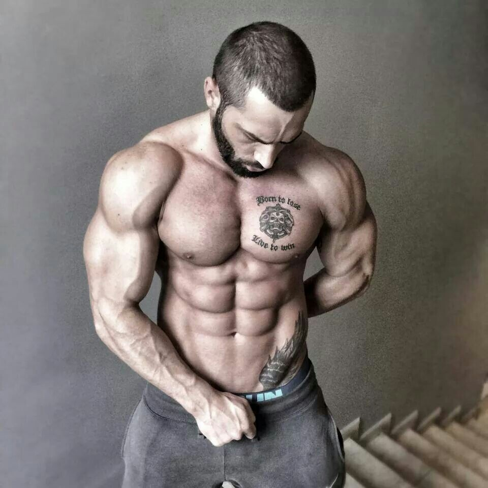 Lazar Angelov Shredded Abs