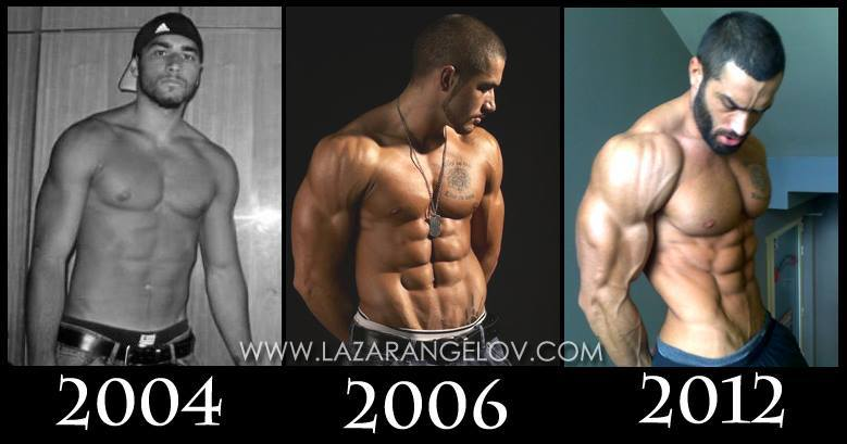 Lazar Angelov transformation from 2004 to 2012