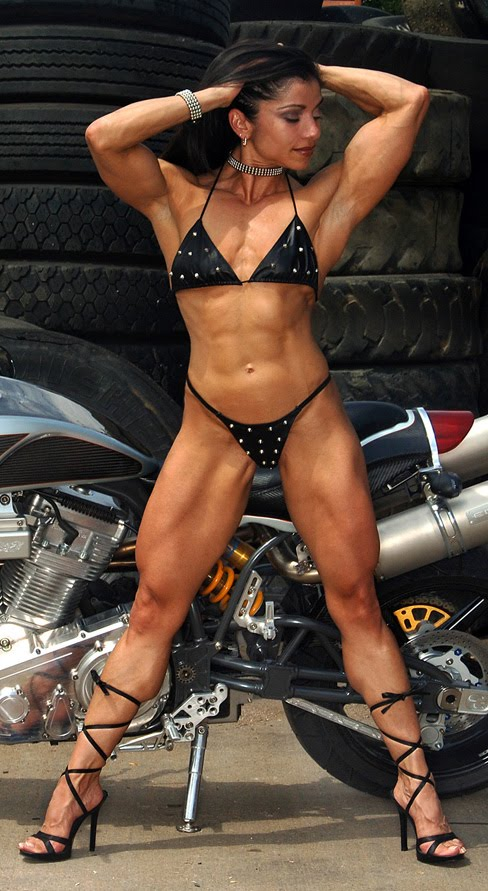 Marina Lopez female muscle hot