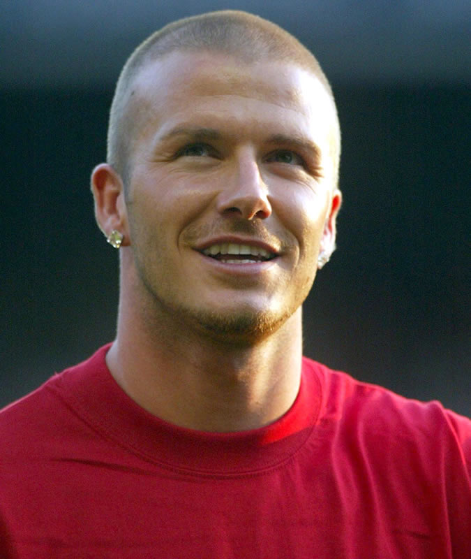 david beckham buzz cut 8qw4