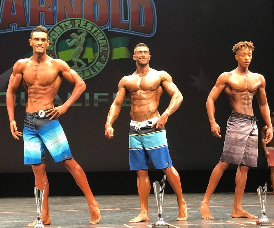 mens physique first timers