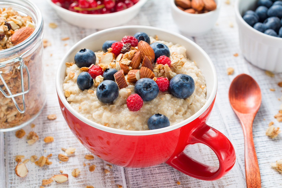 oatmeal berries