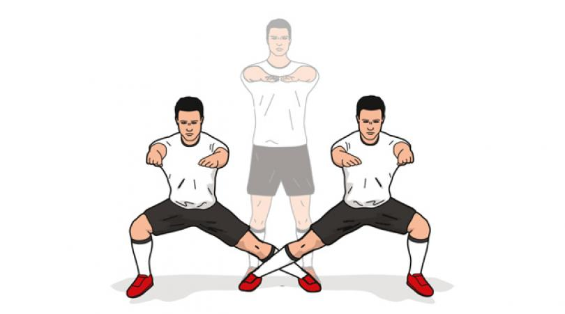 stretching lateral adductor squat 6egf
