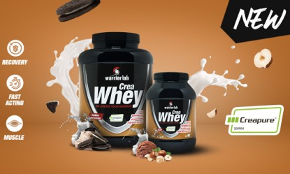New! Crea Whey by Warriorlab