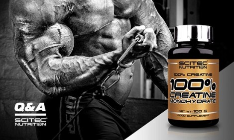 «Boost your Strength» με την 100% Creatine Monohydrate από την Scitec Nutrition!