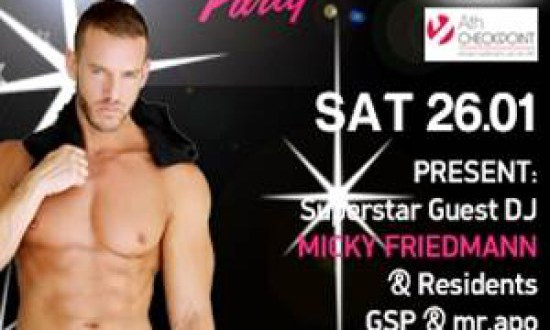 Ο superstar dj & producer MICKY FRIEDMANN στο Aparthent club